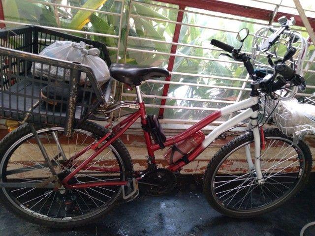 Bicicleta  para trabalho e lazer - Foto 2