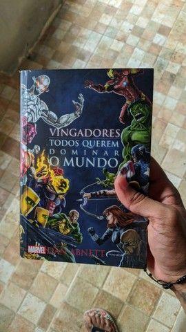Kit Vingadores motim e Vingadores todos querem dominar o mundo - Foto 2