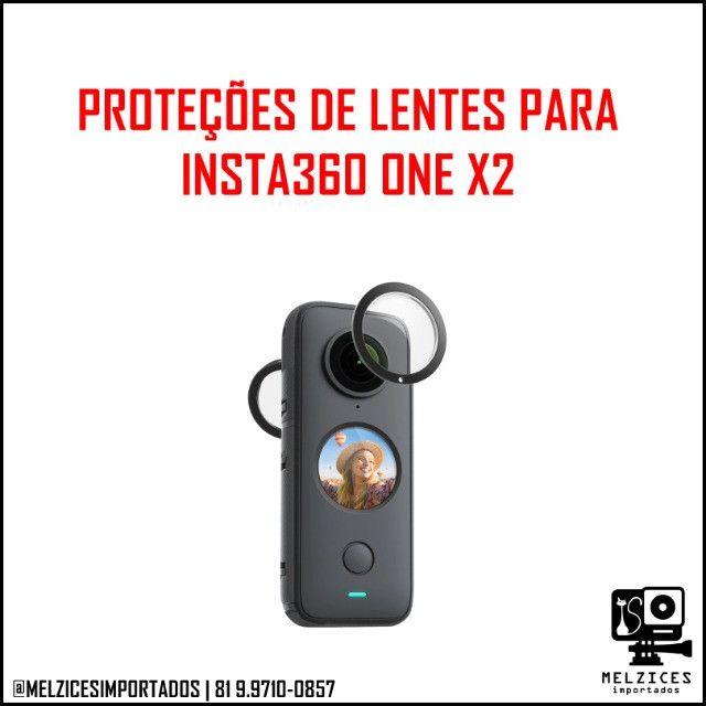 Proteções de Lentes Para Insta360 One X2
