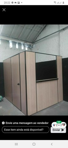 Salas escritórios em painel de Eucatex naval 35mm  - Foto 3