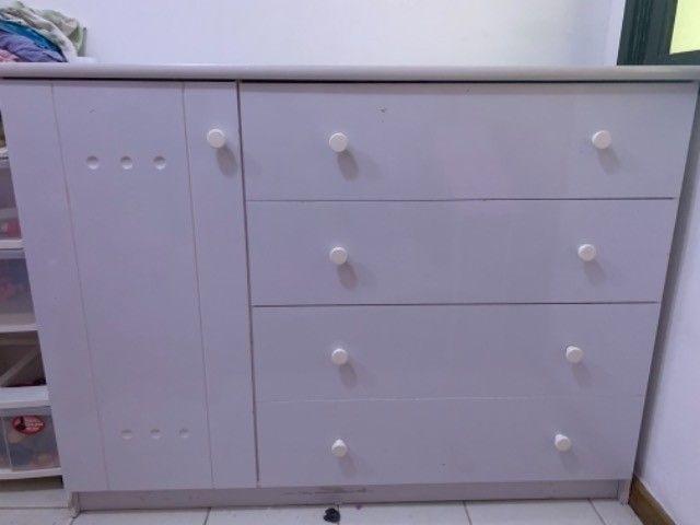 Cômoda branca  - Foto 2