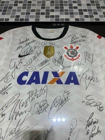 Camisa Autografada Corinthians  - Foto 6