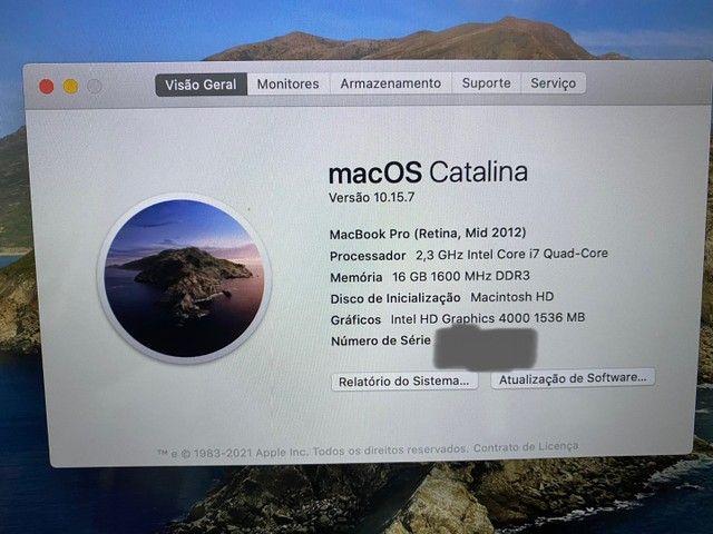 """MacBook Pro 15""""Retina- Quad-Core Intel Core i7 16GB - Foto 3"""