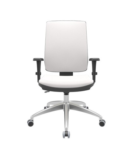 Cadeira Presidente base de alumínio