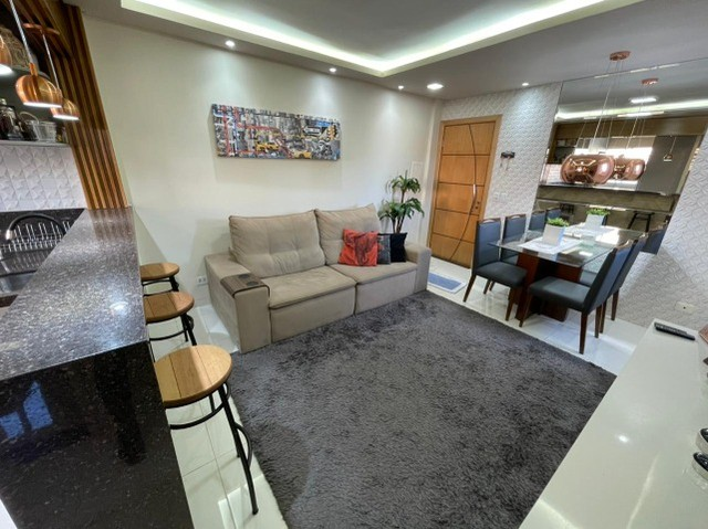 Lindo Apartamento Residencial Tulipas Todo Reformado e Mobiliado - Foto 5