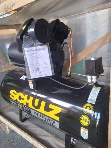 Compressor De Ar Schulz Audaz MCSV 20 Pés 200 Litros 5CV - Trifásico 220/380V - Foto 4
