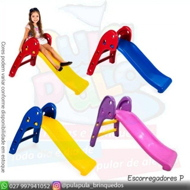 Promoção - Escorregadores coloridos para sua área Kids - Foto 3