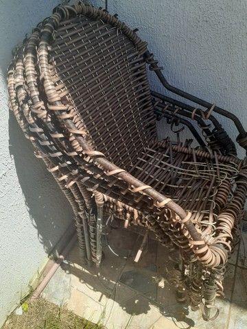 Cj de cadeiras de jardim - Foto 2