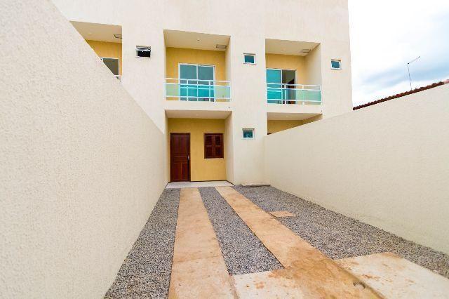 Casa Duplex 3 quartos- Maracanaú - Documentação Grátis - Pronto Para Morar