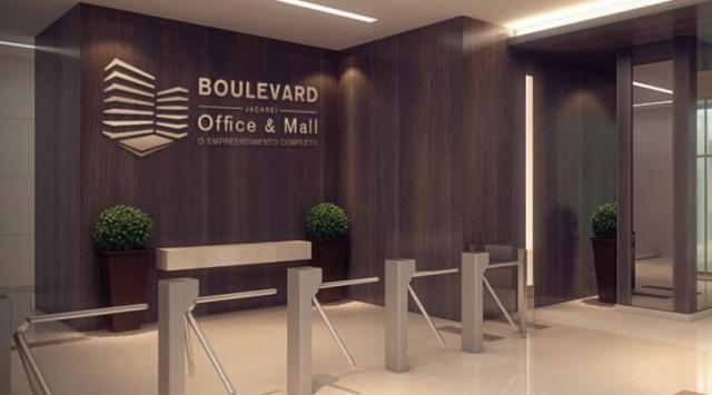 Sala comercial - 28m2 - Boulevard Jacareí Office & Mall