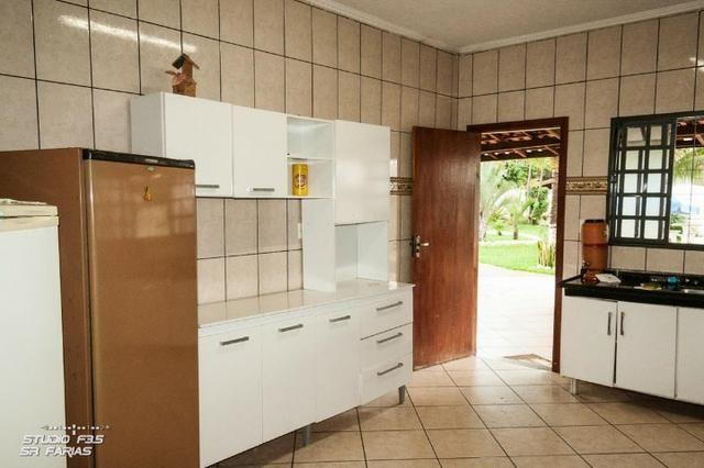 Chácara 2500m2/Piscina Aquec/Sauna/Ofurô/Estuda Oferta e Troca p/Imóvel Franca/Escriturada - Foto 16