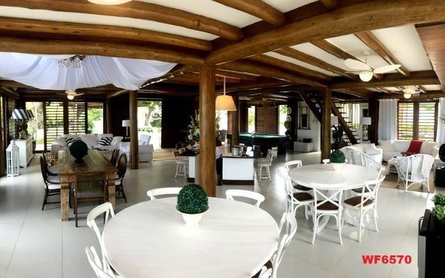 Mansão em Fortim Ceará, casa tríplex, 6 suítes, projetada e mobiliada, próximo ao Centro - Foto 2