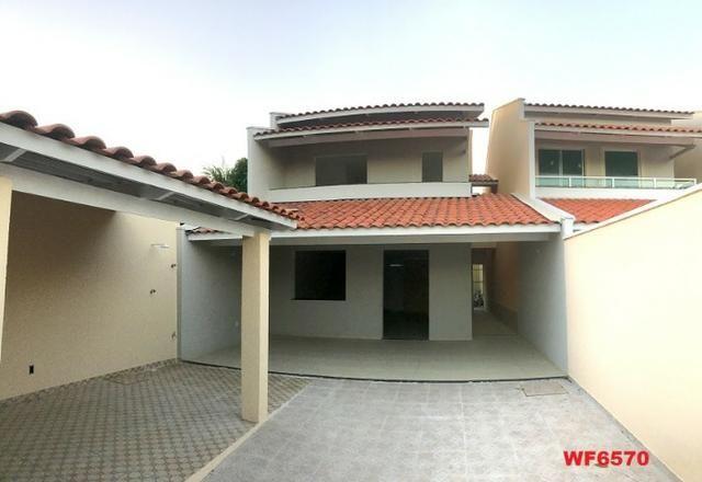 Casa duplex nova com 4 suítes, 3 vagas de garagem, 170m², sala 3 ambientes, Sapiranga - Foto 6