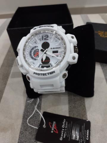 ae00e7d720a Relógio G shock top branco mudmaster - Bijouterias