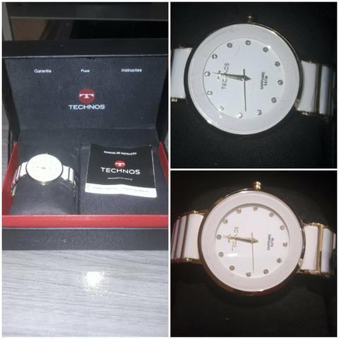 c7235b1c026 Relógio Technnos Feminino e masculino - Bijouterias