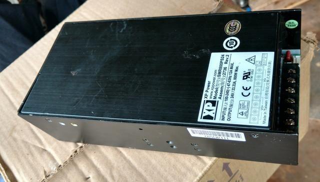 Fonte industrial bivolt 24V 800W 33A