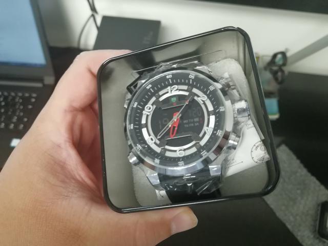1d794e3c99e Relógio Weide Prova D água Top - Bijouterias