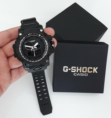 590550cf0e3 Relógio G Shock Casio Grande Mudmaster Novo - Bijouterias