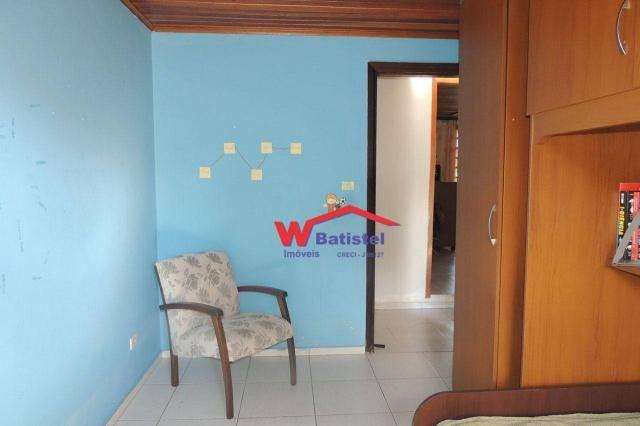 Casa com 3 dormitórios à venda, 160 m² por r$ 380.000 - rua líbia nº 358 - vila alto da cr - Foto 16