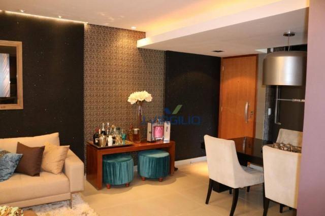 Apartamento com 2 dormitórios à venda, 54 m² por r$ 180.000 - setor dos afonsos - aparecid - Foto 3