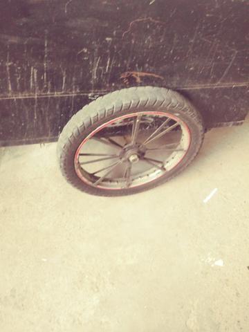 Carrocinha para moto sem molas zap * - Foto 2
