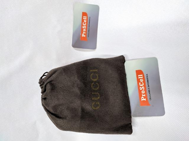 Carteira Gucci Preta - GG Marmont Matelasse wallet - Foto 4
