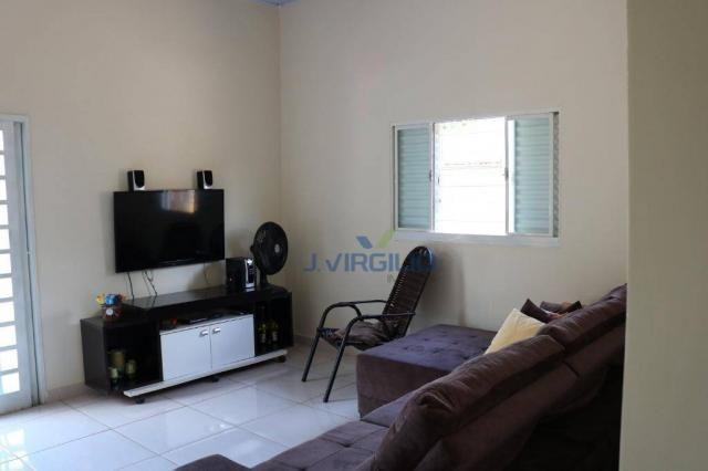 Casa com 3 dormitórios à venda, 150 m² por R$ 210.000 - Residencial Privê Norte - Goiânia/ - Foto 3