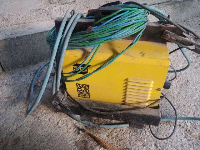 Máquina de solda esab 250 bantam - Foto 3