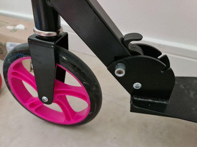 Patinete/scooter adulto usado duas vezes - Foto 6