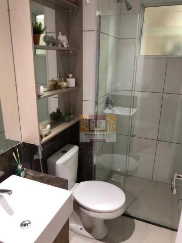Apartamento para venda com 3 quartos e lazer completo no Guararapes - Foto 19