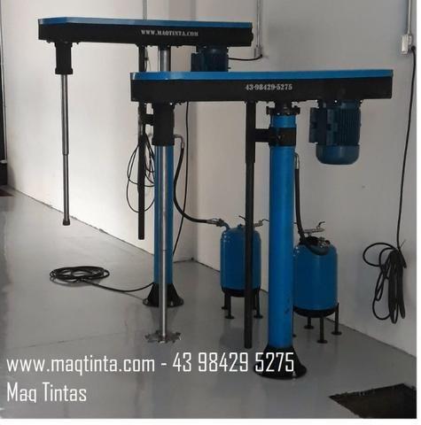 Batedor misturador de grafiato e tintas - Foto 3
