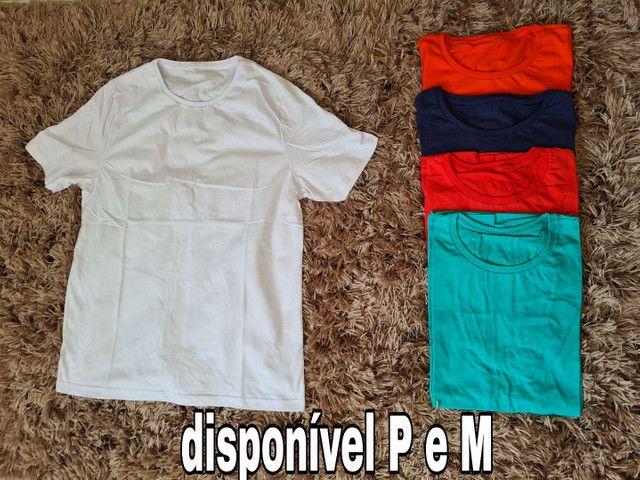 Kit com 5 camisas 50,00 - Foto 2