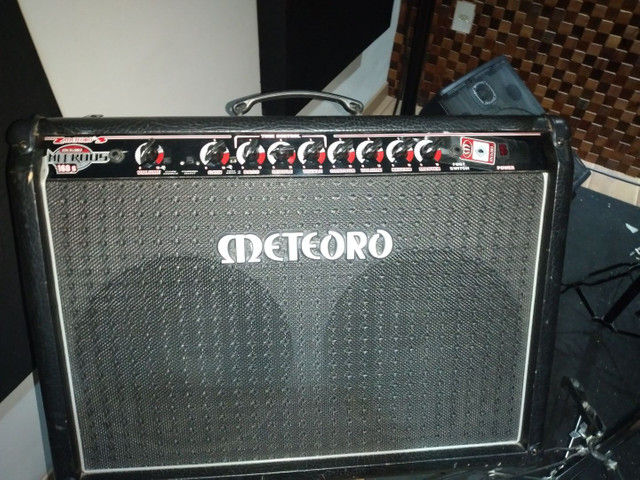 Amplificador  guitarra  Meteoro 160g  - Foto 4