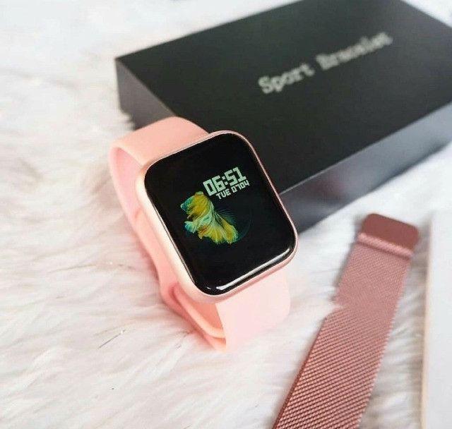 Smartwatch P70 Relógio Inteligente - Foto 3