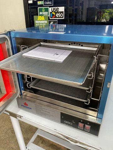 Forno elétrico turbo Fast Oven / pães / bolos - com ventilador turbo - Foto 6