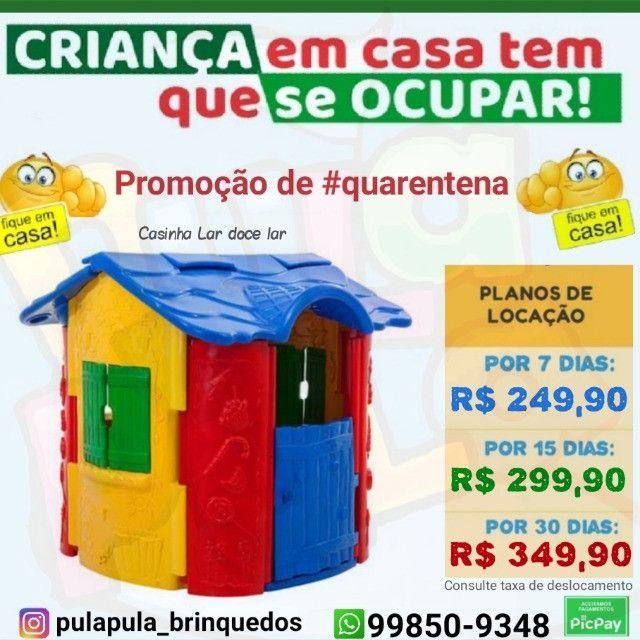 Pula pula + brinquedos coloridos por 7, 15 e 30 dias em sua casa - Foto 5