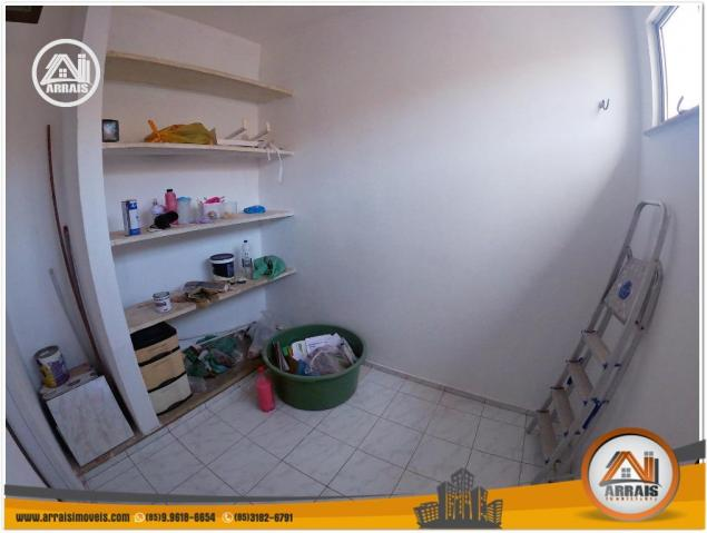 Apartamento com 3 dormitórios à venda, 120 m² por R$ 320.000,00 - Montese - Fortaleza/CE - Foto 16