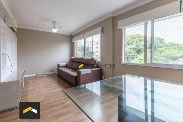 Apartamento com 3 dormitórios para alugar, 96 m² por R$ 3.600,00/mês - Petrópolis - Porto