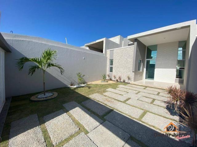 Casa com 3 dormitórios à venda, 90 m² por R$ 270.000 - Centro - Eusébio/CE - Foto 2