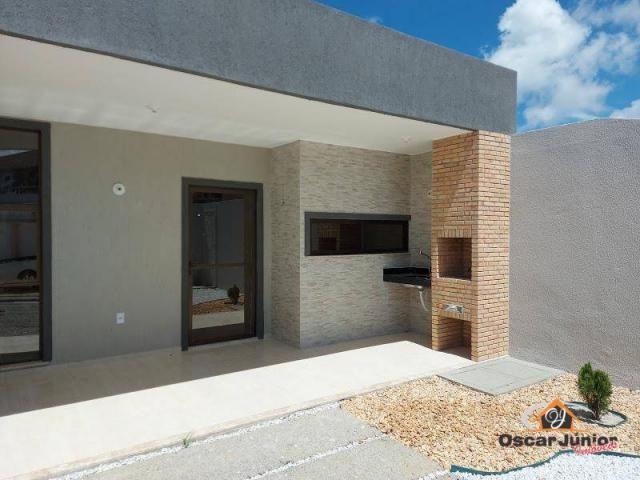 Casa com 3 dormitórios à venda por R$ 290.000,00 - Tamatanduba - Eusébio/CE - Foto 2