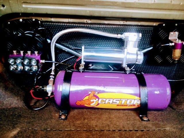 Corolla 2006 com suspensão a ar legalizada! - Foto 5