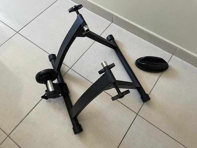 Rolo fixo de bike para treino indoor