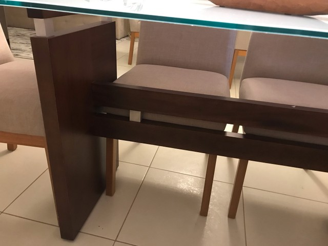 Mesa com 5 cadeiras  - Foto 3