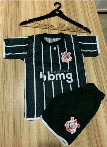 Kit camisa de times infantil  - Foto 2
