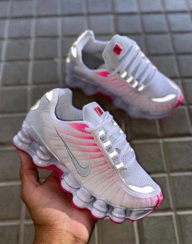 PROMOÇÃO * Nike Shox 12 molas feminino  - Foto 2
