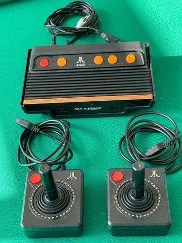 Console Atari Flashback 101 jogos c/ 2 Joysticks