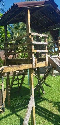 Parquinho de madeira - Foto 3