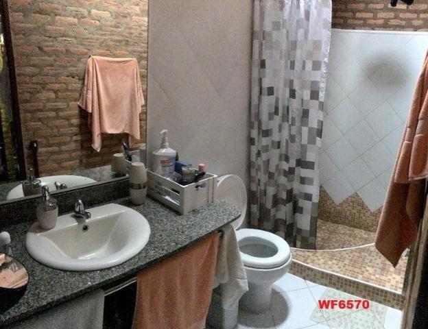 Casa duplex com 4 quartos, gabinete, 5 vagas, 1.200m² terreno, próx Edilson Brasil Soares - Foto 6