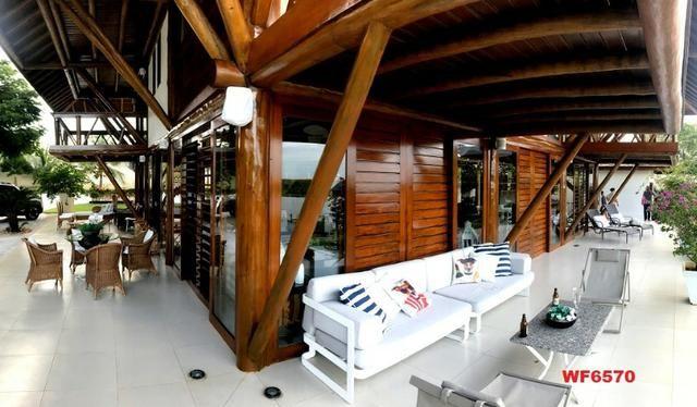 Mansão em Fortim Ceará, casa tríplex, 6 suítes, projetada e mobiliada, próximo ao Centro - Foto 12