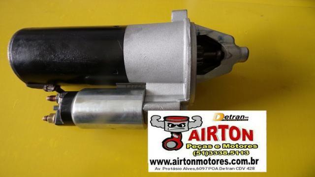 Motor de arranque diesel-alternador-cabeçote-coletor-compressor-polia-volante-comando-tbi